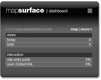 mapsurface ウィジェット